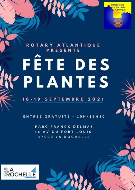 Affiche Fête des plantes